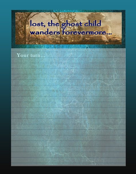 journal-writing-page-ghost-child-8x10