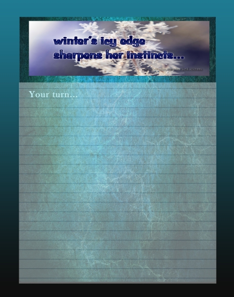 Journal Writing Page wintersicyedge