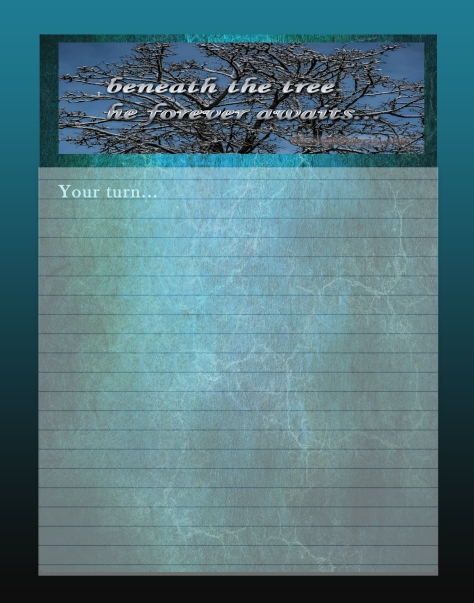 Journal Writing Page beneaththetree